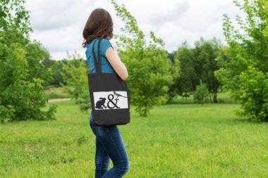 Эко сумка с логотипом
